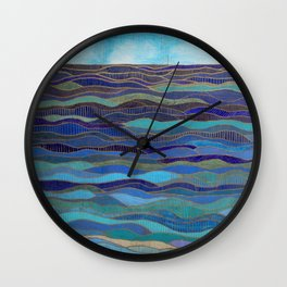 In Calm Waters Wall Clock