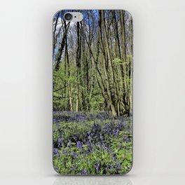 Everdon Stubbs Wood Bluebells iPhone Skin