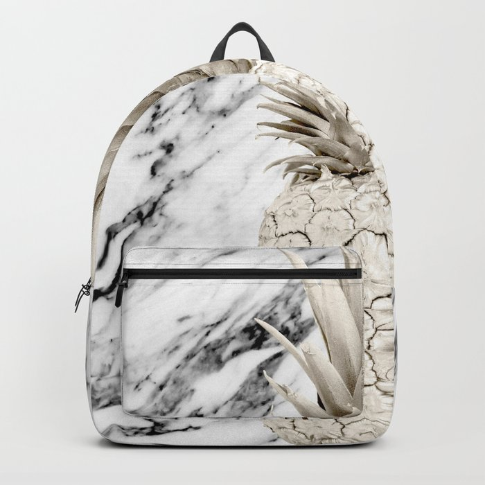 Marble Pineapple Backpack
