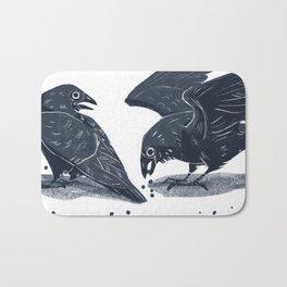 Blue Ravens Bath Mat