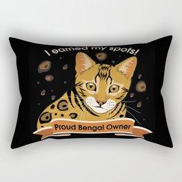 I Earned My Spots! Rectangular Pillow