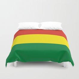 Flag: Bolivia Duvet Cover