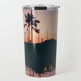 Purple and Orange Skies Travel Mug