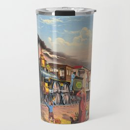 The Fast Mail,  1875 Travel Mug