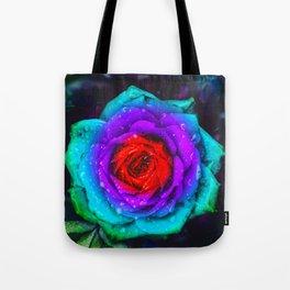 Colorful Rose Tote Bag