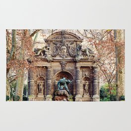 Medici Fountain in Autumn Rug
