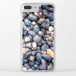 Stones With Style Clear iPhone Case