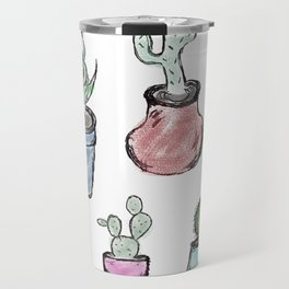 Plants and Cacti Travel Mug
