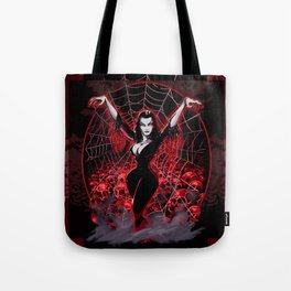 Web of Vampira Tote Bag