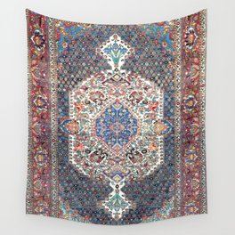 Bakhtiari Central Persian Rug Print Wall Tapestry