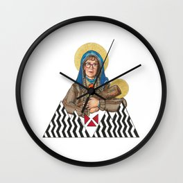 Our Log Lady Of Perpetual Help Wall Clock