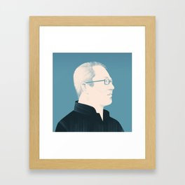 Architect Portraits: Wang Shu Framed Art Print