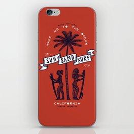 Sun Sand Surf iPhone Skin