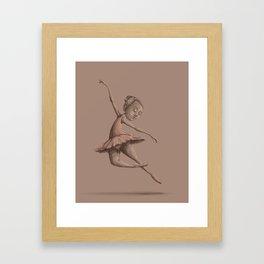 Ballerina #1 Framed Art Print