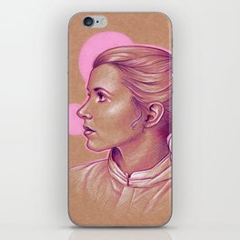 Pink Princess Leia iPhone Skin