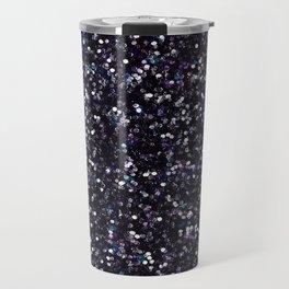 Iokasti Blue-Black Swarovski Travel Mug