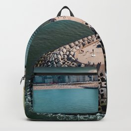 Coast of Belgium Backpack