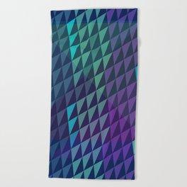 Dusk Crystals Beach Towel