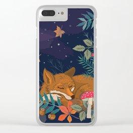 Hibernation Clear iPhone Case