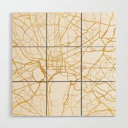 WASHINGTON D.C. DISTRICT OF COLUMBIA CITY STREET MAP ART Wood Wall Art