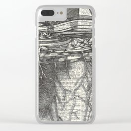 Wild Weather Clear iPhone Case