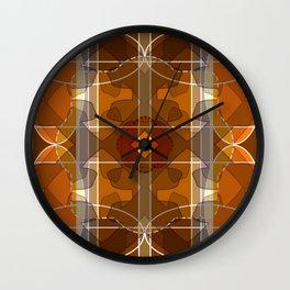 Sequestered Nebula Wall Clock