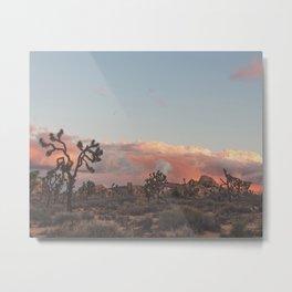 Joshua Tree Sunset No.2 Metal Print