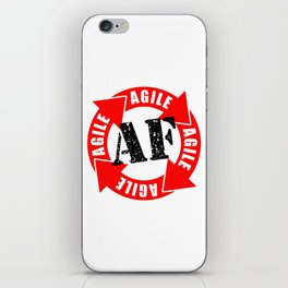 Agile AF iPhone Skin
