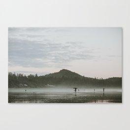 Dusk in Tofino Canvas Print