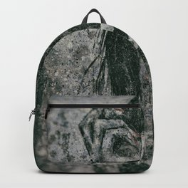 Miss With A Cigarette Wet Vintage 9 Backpack