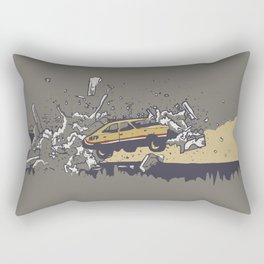 Mad Max Caravan Smash Rectangular Pillow