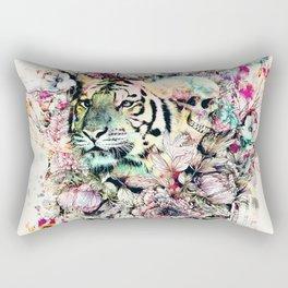 Interpretation of a dream - Tiger Rectangular Pillow
