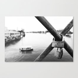 spanish lovers Canvas Print