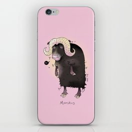 Triste dyr: Morskus iPhone Skin