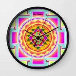 Shri Chakra Wall Clock