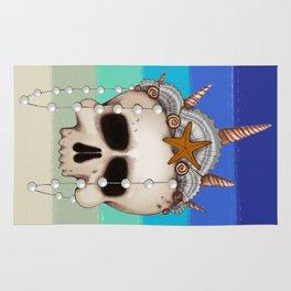 Mermaid Skull Rug