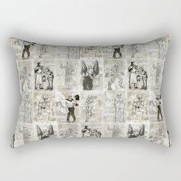 Universal Monster Pattern Rectangular Pillow