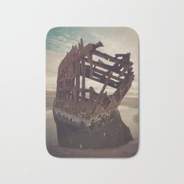 Shipwrecked - The Peter Iredale Bath Mat