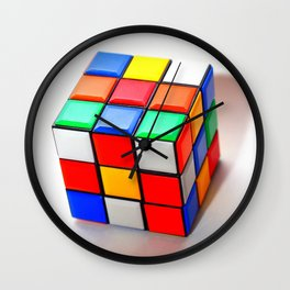 Rubiks Cube Wall Clock