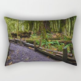 Cathedral Grove, Vancouver Island BC Rectangular Pillow