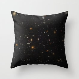 THE UNIVERSE - Space | Time | Stars | Galaxies | Science | Planets | Past | Love | Design Throw Pillow