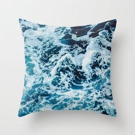 Lovely Seas Throw Pillow