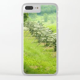 Gettysburg pa photography art Clear iPhone Case