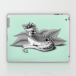 Poisonous Dragon-Teal Palette Laptop & iPad Skin