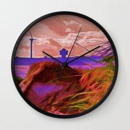 Sand Dunes (Digital Art) Wall Clock