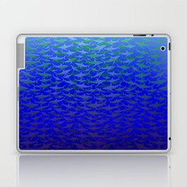 Sharks In Deep Water. Laptop & iPad Skin