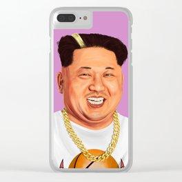 HIPSTORY - Kim Jong Un Clear iPhone Case