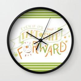 Natsume Yuujinchou Quote Typography Wall Clock