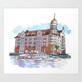 Kaliningrad Art Prints | Society6
