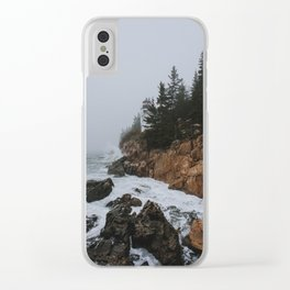 Bass Harbor, Maine Clear iPhone Case